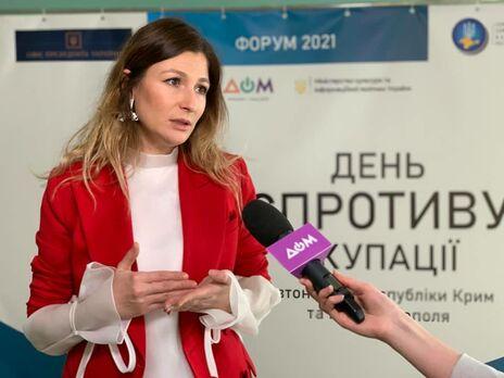 Джапарова считает, что в Украине семь лет шли только дискуссии и заявления о деоккупации Крыма