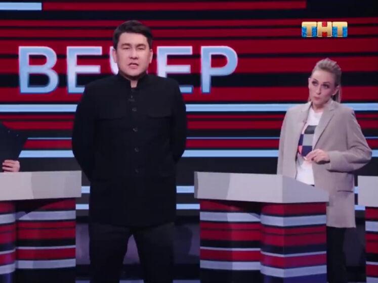 Российский телеканал ТНТ показал пародию на Соловьева и Киселева. Позже ролик пропал из YouTube и онлайн-кинотеатра Premier