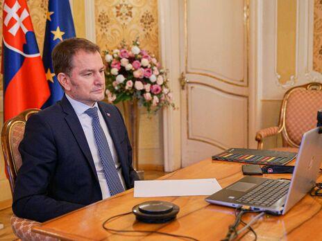 Позиція Словаччини щодо територіальної цілісності України завжди була чіткою, зазначив Матович
