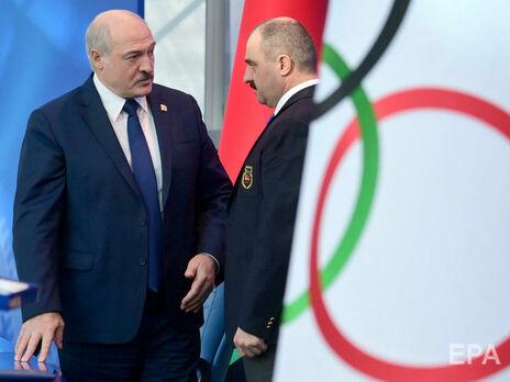 МОК не визнав передання повноважень президента НОК Білорусі Олександром Лукашенком синові Віктору