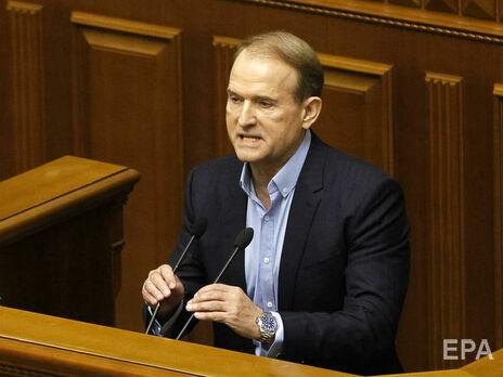 За даними ЗМІ, Медведчука допитали у справі про держзраду