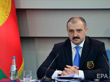 Виктора Лукашенко избрали главой НОК Беларуси 26 февраля во время олимпийского собрания комитета