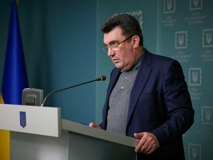 СНБО одобрил проект стратегии деоккупации Крыма – Данилов