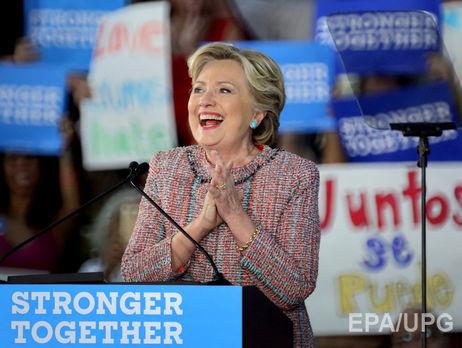 Клинтон опережает Трампа на7%,— опрос