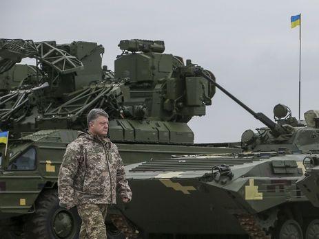 Украине наоборону необходимо поменьшей мере 5% ВВП— Порошенко