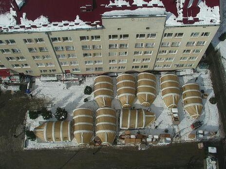 В Ивано-Франковской области сворачивают первый в Украине мобильный госпиталь для больных COVID-19