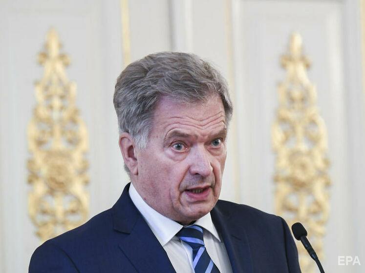 Президент Финляндии в разговоре с Путиным выразил обеспокоенность переброской российских войск к границе с Украиной
