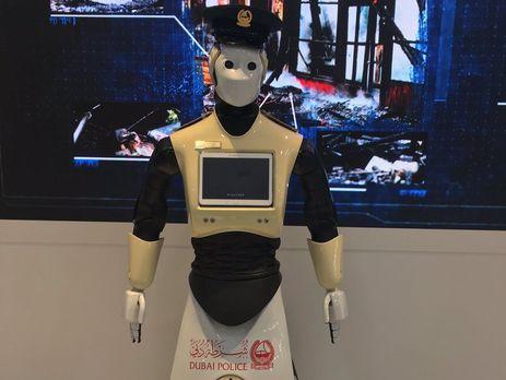 ВДубае в2017 начнет работать 1-ый робот-полицейский