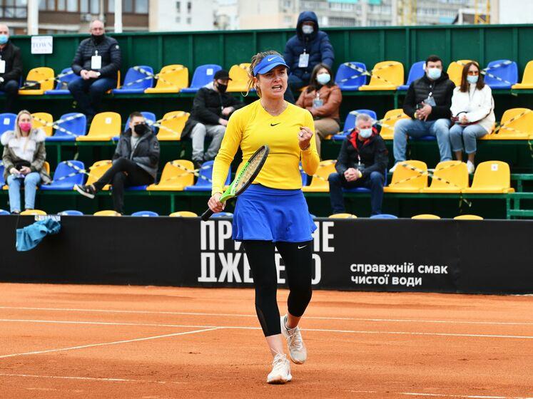 Україна здобула дві перемоги над Японією в Кубку Федерації з тенісу