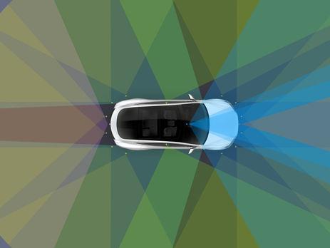 Tesla выпустила автомобили сполноценным автопилотом