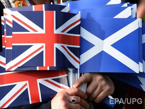 Шотландия собирается провести референдум онезависимости доBrexit— EUObserver