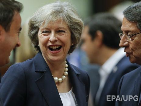 Мэй сообщила, что Лондон будет надежным партнеромЕС после Brexit