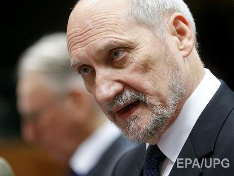 Министр обороны Польши сделал мистральный вброс