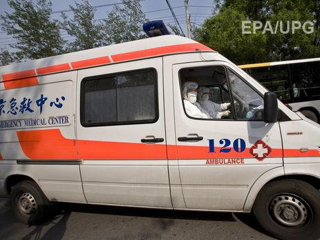 Украина получит отКитая 50 новых авто скорой помощи