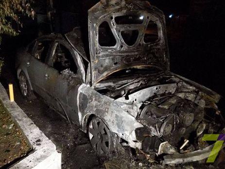 ВОдессе сожгли автомобиль руководителя налоговой