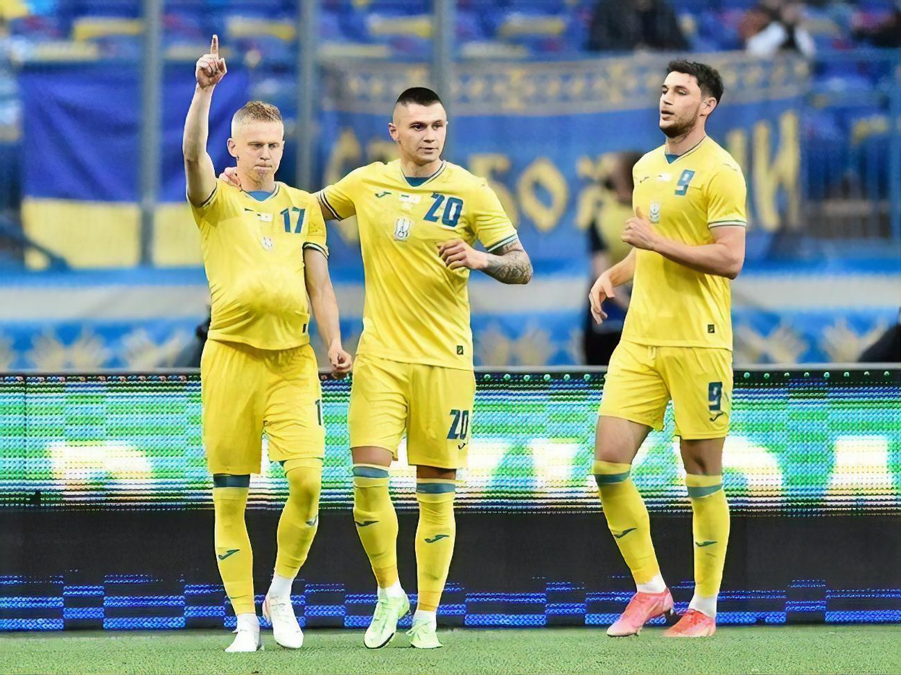 Украина намерена играть на Евро 2020 в форме с надписью 'Героям слава!