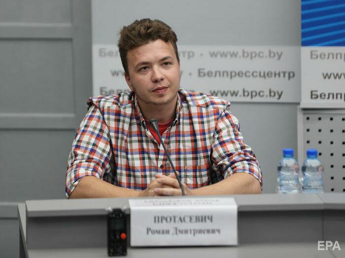 В Беларуси прошел брифинг МИД с участием Протасевича. Иностранные журналисты вышли из зала