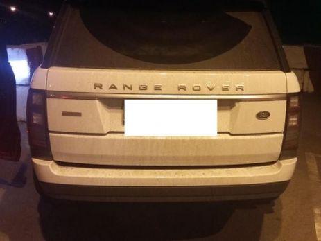 Женщину наугнанном Range Rover задержали на русской границе