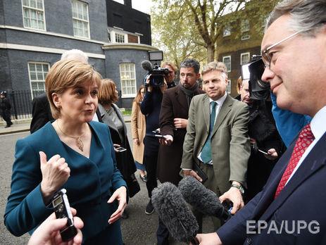Глава правительства Шотландии разочарована переговорами поBrexit