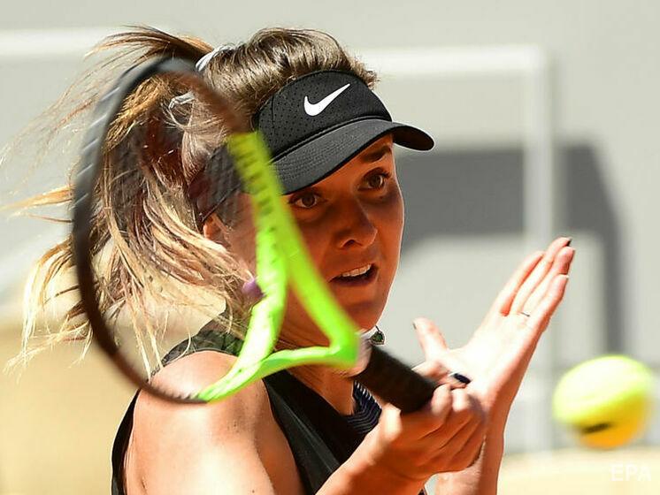 Свитолина проиграла Рыбакиной во втором круге турнира WTA в Истборне