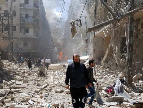 ВАлеппо началось полномасштабное наступление навойска Асада