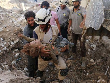 Жертвами авиаудара пошколе вСирии стали 28 человек