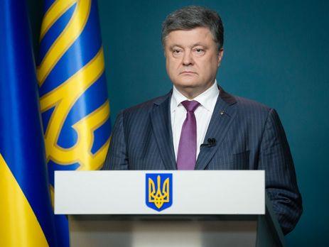 Порошенко уверен, что Крым иДонбасс возвратятся под украинский флаг