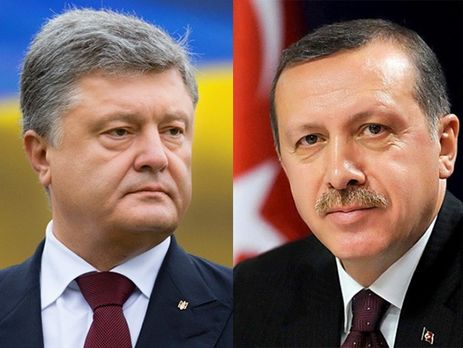 Порошенко иЭрдоган договорились активизировать переговоры озоне свободной торговли