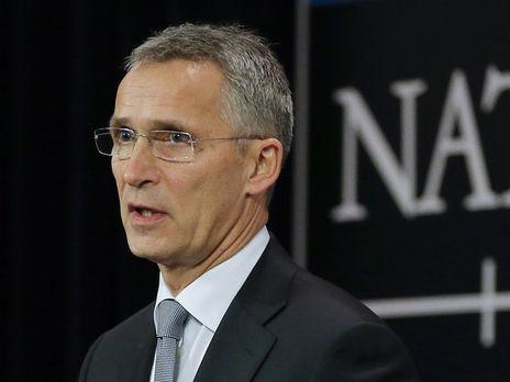 Столтенберг объявил онежелании конфронтации НАТО сРоссией
