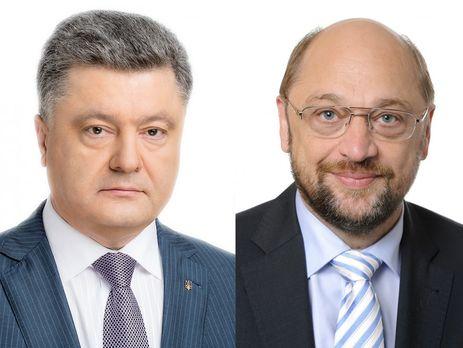 Шульц: Повопросу безвизаЕС настороне столицы Украины