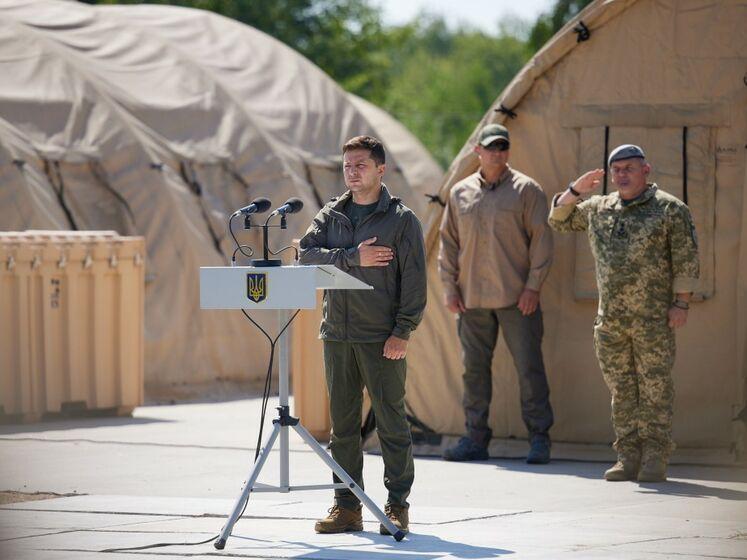 Зеленский представил новое командование Генштаба ВСУ