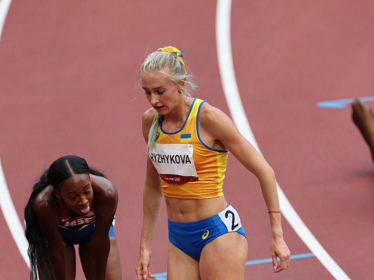 Украинская финалистка Олимпиады Рыжикова: Стыдно за свою страну. Я одна в поле воин против целой армии