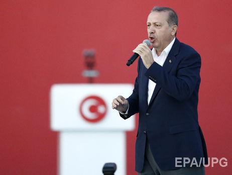 Президент Турции предложил ввести смертную казнь вгосударстве