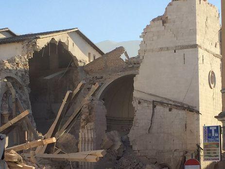 Вцентральной Италии— новое мощное землетрясение