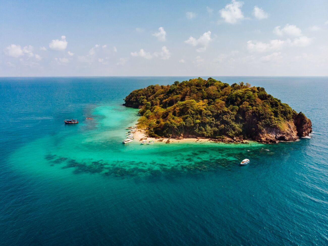 Новый остров появился на Канарах