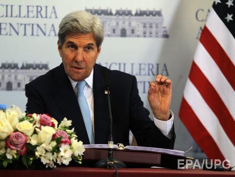 Керри надеется начать политические переговоры поСирии через два месяца