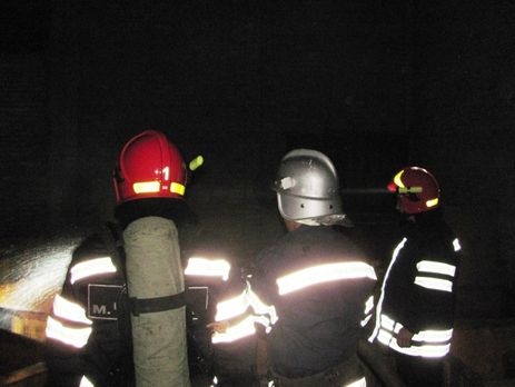 Нахимическом заводе вЧеркассах произошел пожар