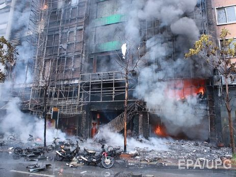 Врезультате сильного возгорания вовьетнамском караоке-баре 13 человек погибли
