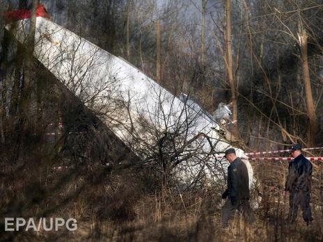 На борту разбившегося самолета находились президент Польши Лех Качиньский и его жена