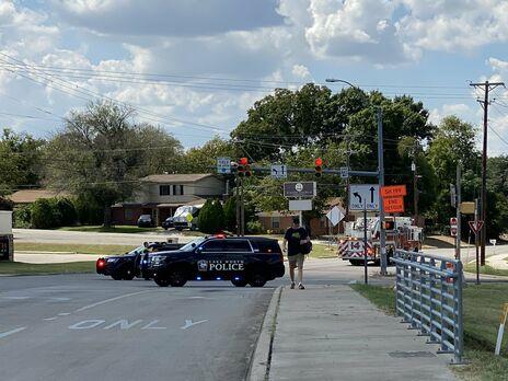 В Техасе в жилом районе упал военный самолет, есть пострадавшие