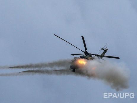 Обстрел русского вертолета вСирии: появилось видео