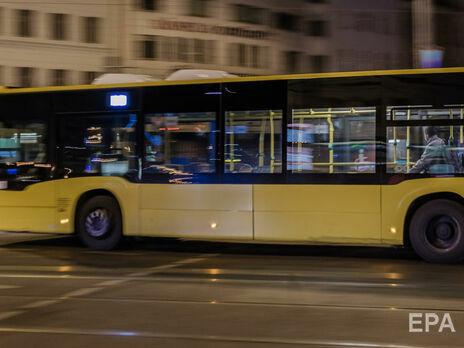 В Германии пассажир автобуса захватил заложников
