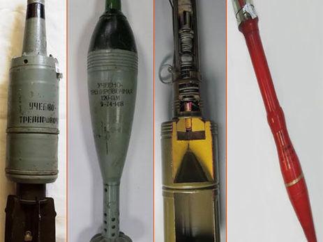Продавец оружейного магазина сообщила, что найденное вхранилище под Киевом оружие— муляжи