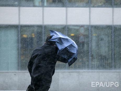 Гидрометцентр: Кконцу недели взападных областях Украинского государства предполагается штормовой ветер