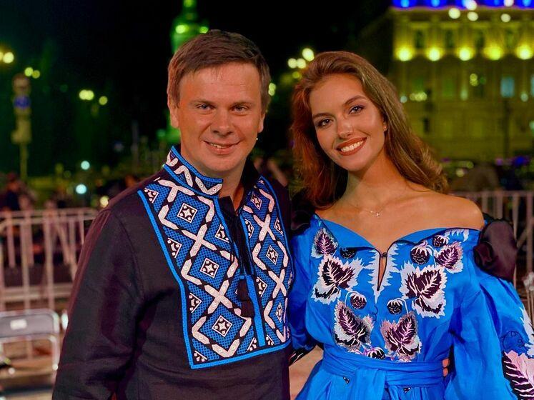 """Жена Комарова рассказала, как после победы на конкурсе """"Мисс Украина"""" едва не лишилась волос"""