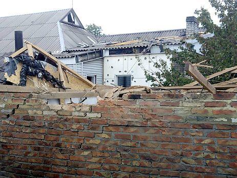 Боевики обстреляли жилые кварталы Марьинки— ранен мужчина