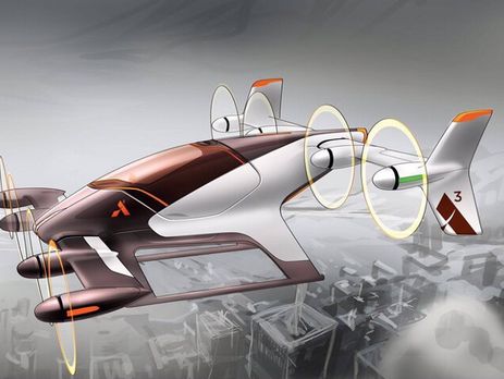 Французы запустят беспилотные воздушные такси— Вместо обыкновенной машины