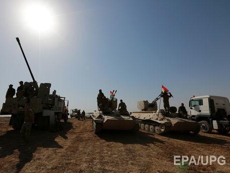 Иракские курды ведут бои загород в13 километрах отМосула