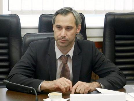 ГПУ закрыла дело обобогащении Рябошапки Ничего ненашли