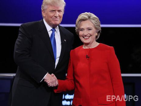 Клинтон иТрамп признаны самыми непопулярными претендентами вистории— Выборы вСША